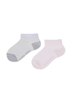 Katia Bony Lucy 2 Li Bebek Patik Çorap